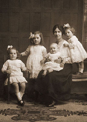 Jenny WINTER & children